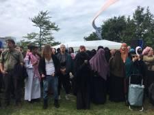 Protest tegen boerkaverbod rustig verlopen