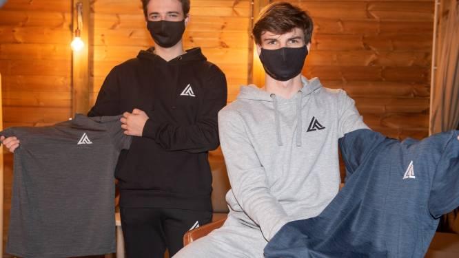 """Studenten starten eigen sportkledingwebshop: """"We verkopen alleen wat we zelf goed vinden, want duurzaamheid is onze rode draad"""""""