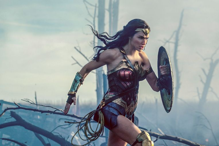 Gal Gadot in Wonder Woman.  Beeld AP