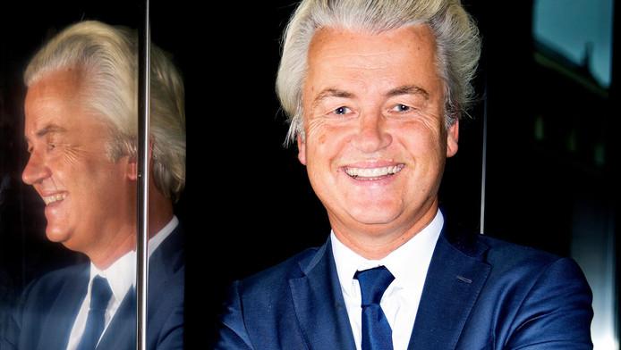 Geert Wilders, partijleider van de PVV.