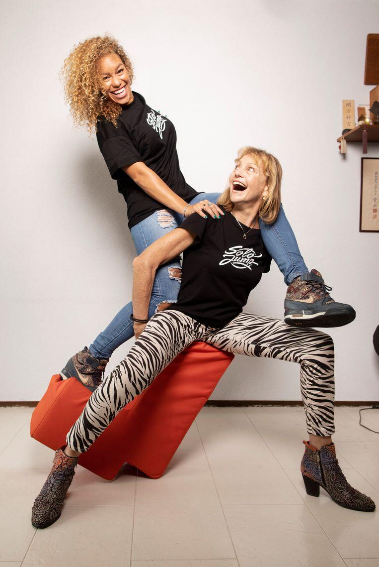 Solange en Jolanda. Beeld Harmen De Jong