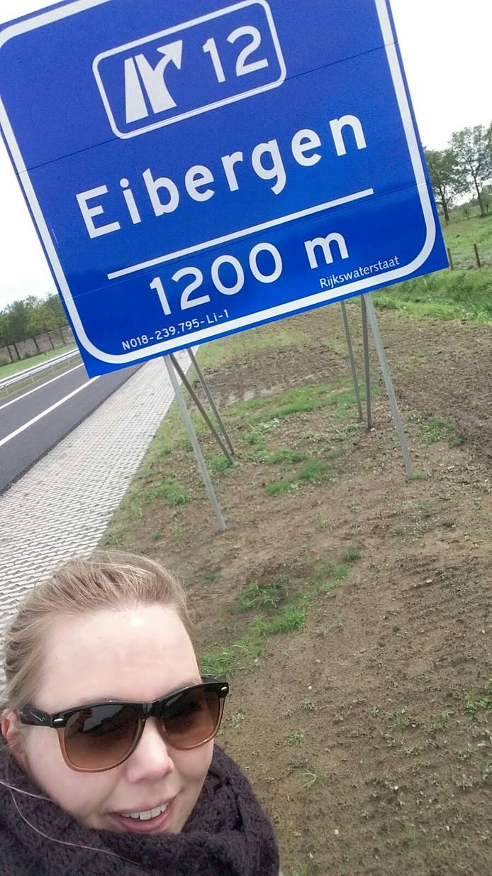 Ik ben nu enkele jaren weg uit Eibergen, maar dit moment wilde ik meemaken. Prachtig om over de nieuwe N18 te fietsen.