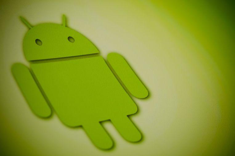 Android-logo. Beeld anp