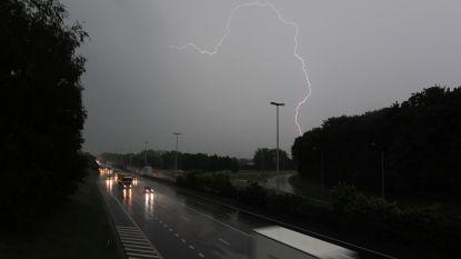 Code oranje: opletten voor hevig onweer zondag in Limburg en Wallonië