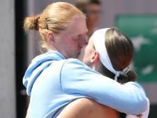 Greet Minnen échoue aux portes de Roland-Garros, Van Uytvanck vient la réconforter