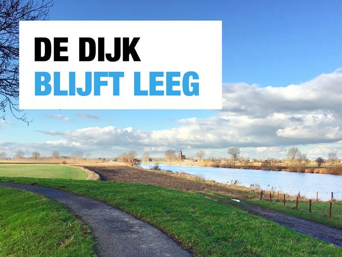 Met dit beeld maakt De Maasdijk vrijdag de afgelasting voor 2020 bekend.