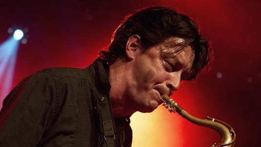 De Nederlandse saxofonist Yuri Honing tijdens North Sea Jazz.