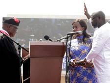 Stervoetballers en presidenten te gast bij inauguratie Liberiaan George Weah