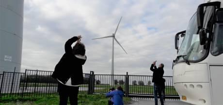 Dit zijn windmolens in de Hoeksche Waard. Zó willen ze het niet in Heesch en Ravenstein