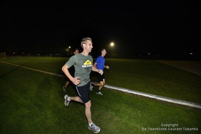 De atletiekbaan in Westerhaar is een grasbaan, waar momenteel niet kan worden getraind.