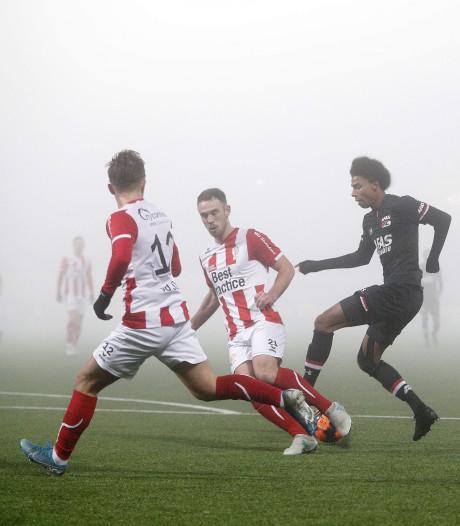 In de mist wordt TOP zicht op kwartfinale ontnomen: 'Toonden tot het einde karakter'