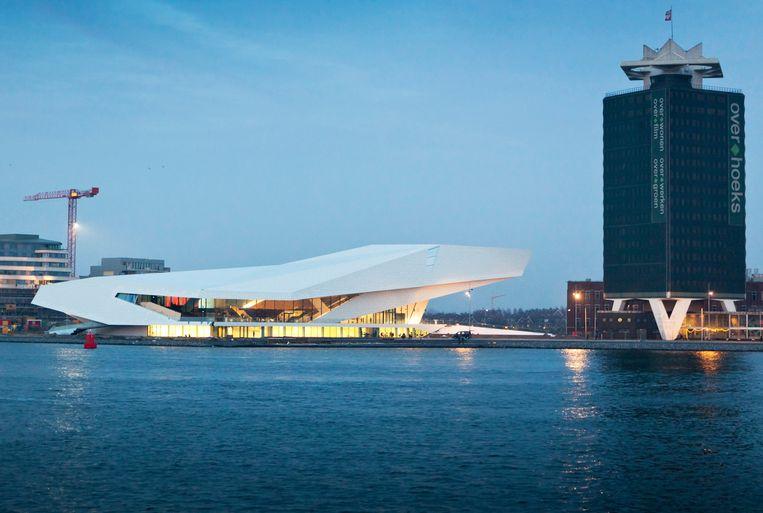 Het EYE-instituut in Amsterdam-Noord.