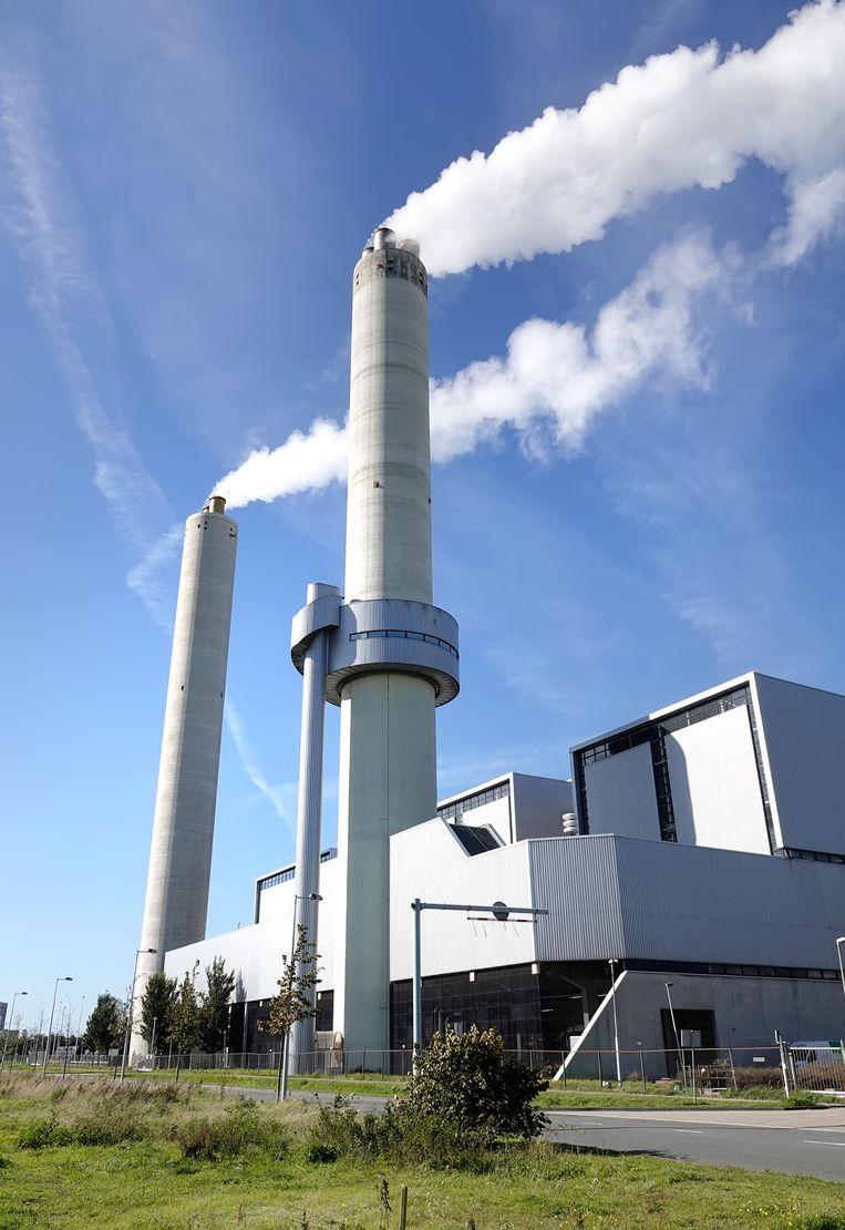Het Afval Energie Bedrijf (AEB) in het Westelijk Havengebied in Amsterdam. Beeld Hollandse Hoogte / Berlinda van Dam
