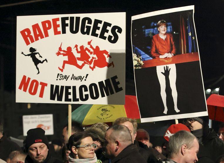 De geweldmisdrijven waarbij steeds vaker migranten betrokken zijn, voeden extreemrechts. Een voorbeeld: de betogingen van Pegida dat zijn ontstaan vond in Duitsland.