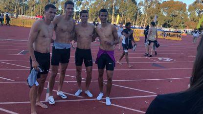 Eerste keer vier winnende broers Borlée in 4x400m