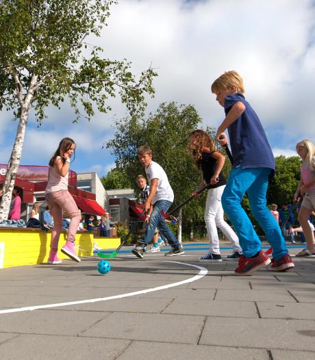 Lijnentikspel of baskets: Alphense basisscholen willen geld voor 'sportschoolpleinen'