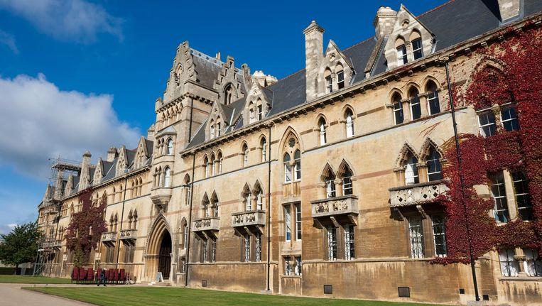 Het prestigieuze Christ Church College in Oxford, waar Lavinia Woodward geneeskunde studeert.