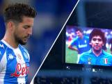 Napoli eert Maradona met indrukwekkende minuut stilte