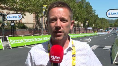 """Oplopende finish in Albi: """"Iets voor sterke sprinters"""""""