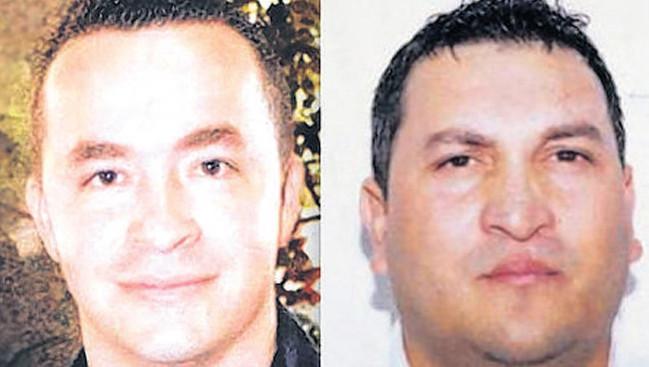 De twee vermoorde mannen van wie de lichamen in Delfgauw werden gevonden.