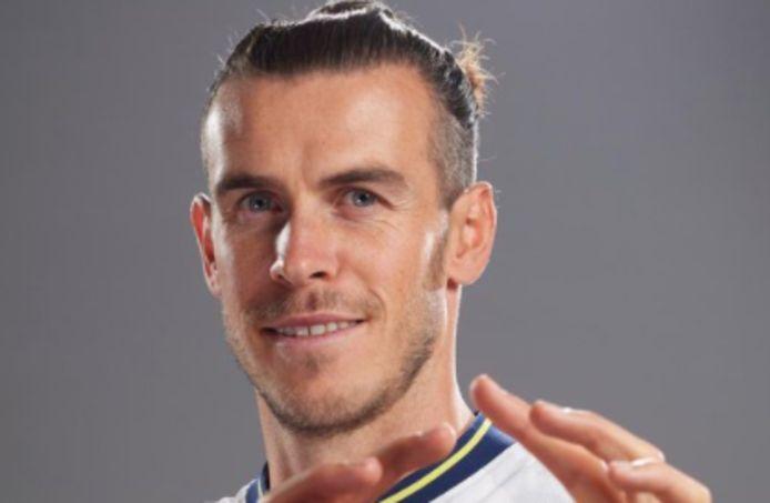 Gareth Bale werd vandaag officieel voorgesteld door Tottenham.