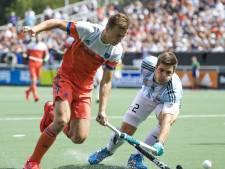 Hockeyers beginnen Champions Trophy met verlies tegen Argentinië