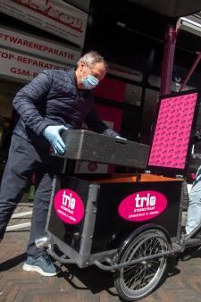 Italiaans ijs per bakfiets: 'Iedereen wordt blij van het idee'