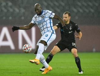 LIVE. Gladbach maakt op slag van rust gelijk, Inter en Lukaku virtueel uitgeschakeld