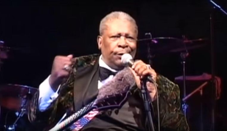 BB King in Martin Scorsese Presents the Blues. Beeld