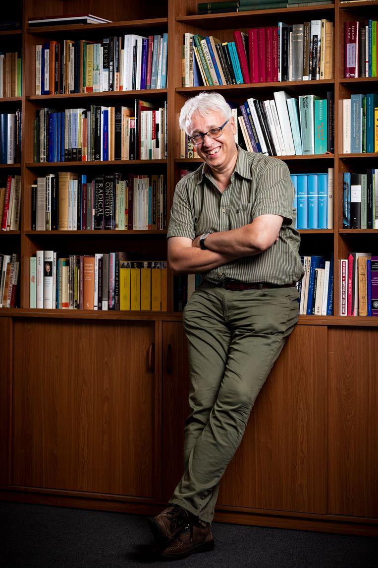 Patrick van Schie, directeur van het wetenschappelijke bureau van de VVD. Beeld Freek van den Bergh/de Volkskrant