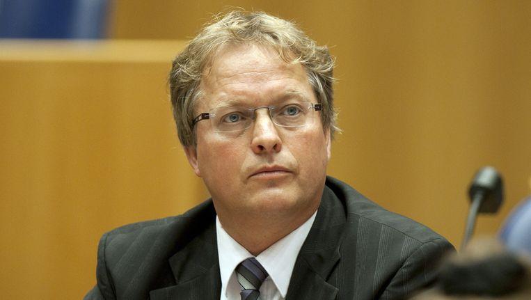 VVD kamerlid Erik Ziengs. Beeld null