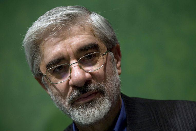 Mir Hossein Mousavi (Reuters) Beeld