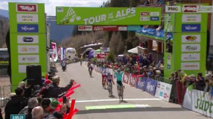Koers kort 17/4: Angel Lopez slaat toe in koninginnenrit Tour of the Alps, 20-jarige Sosa nieuwe leider