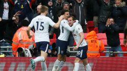 """Goal 101 voor Harry Kane: beste spits in de Premier League beslist Noord-Londense derby. Coach looft Dembélé: """"Hij is een genie"""""""