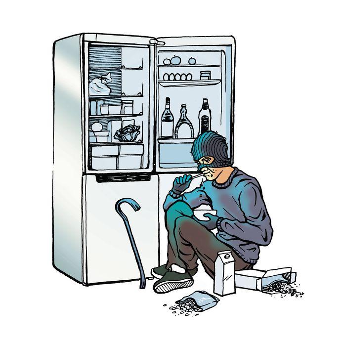 Ali B. wordt verdacht van acht inbraken of pogingen daartoe in Apeldoorn en Zwolle. Bij de inbraken viel de politie de 'modus operandi' op: dikwijls werd drank en eten genuttigd.