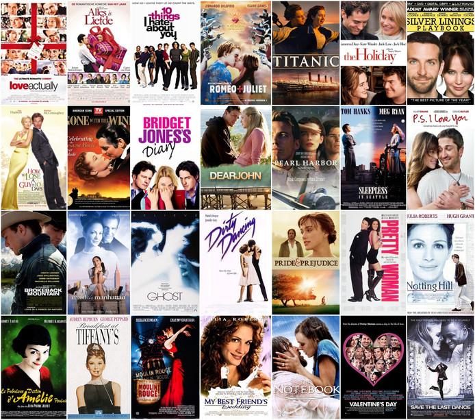 Dit waren de films waaruit lezers hun favorieten konden kiezen.