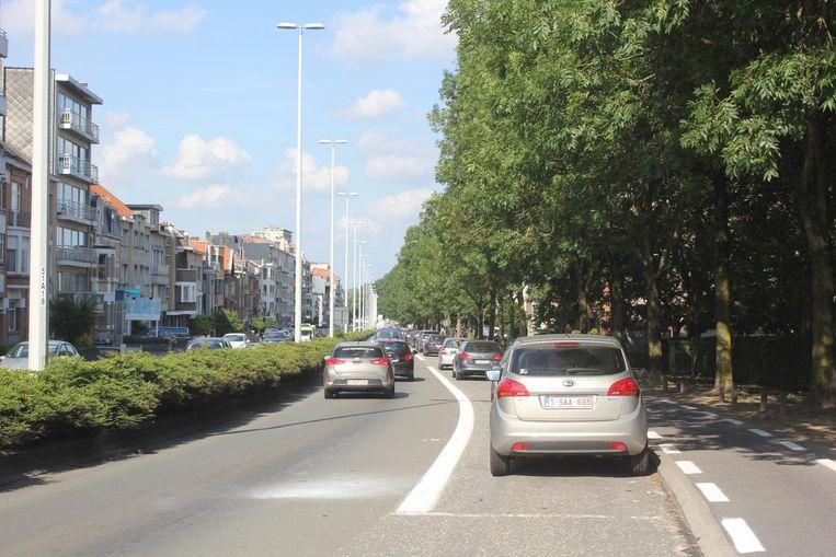 Onder meer op de Parklaan komt er binnenkort een blauwe zone.