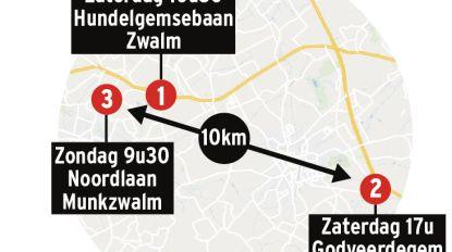 3 doden in 24 uur in straal van 10 kilometer