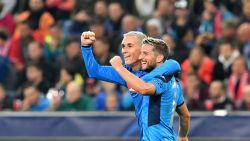 Twee treffers én een assist: Dries Mertens uitblinker tegen Salzburg