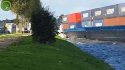 Geschreeuw en paniek: containerschip plet plezierjachtje in Nederland