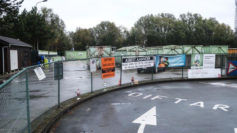 Het bakkenpark in de Graaf Karel de Goedelaan sluit.