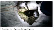 Klimmer na 5 dagen in ijskoude kloof gered