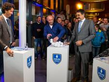 KNVB-beker: Vitesse naar Swift, NEC tegen Emmen, De Graafschap treft Kozakken Boys