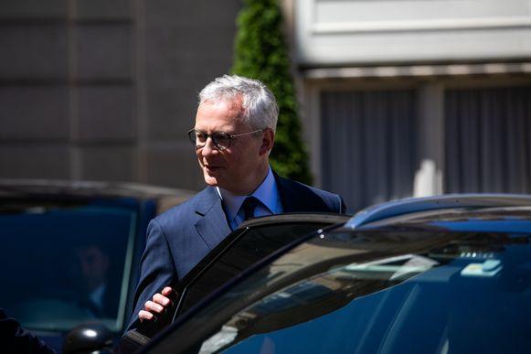 Bruno Le Maire, Frans minister van Financiën.