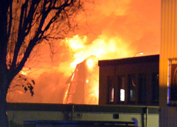 De brand in Zoetermeer.
