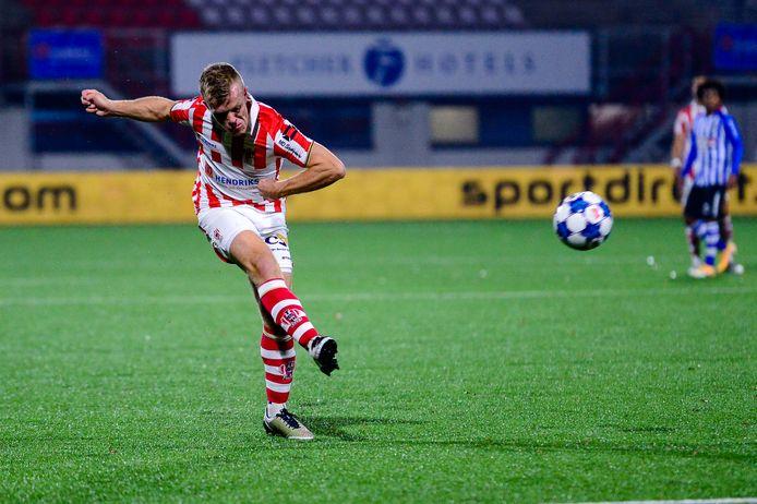 13-11-2020: Voetbal: TOP Oss v FC Eindhoven: Oss Keuken Kampioen Divisie seizoen 2020-2021 L-R: Lion Kaak of TOP Oss