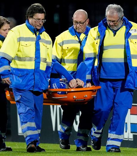 Jong PSV en FC Eindhoven in evenwicht; vrees voor zware blessure Janssen