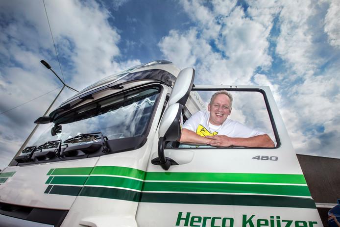 Herco Keijzer maakt maar wat graag tijd vrij om vandaag achter het stuur te kruipen.