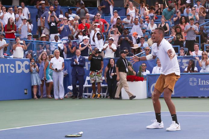 Nick Kyrgios a remporté, à Washington, le sixième titre de sa carrière.