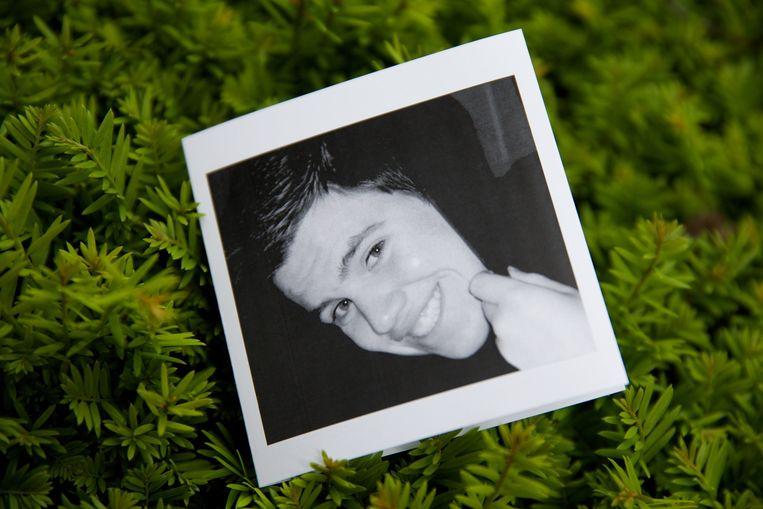 Het slachtoffer van de steekpartij, Mikey Peeters (19).